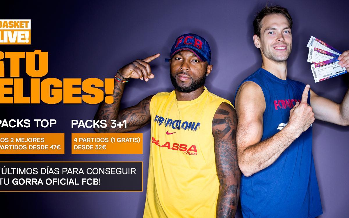 ¡Ya están disponibles los 'packs' Basket Live!