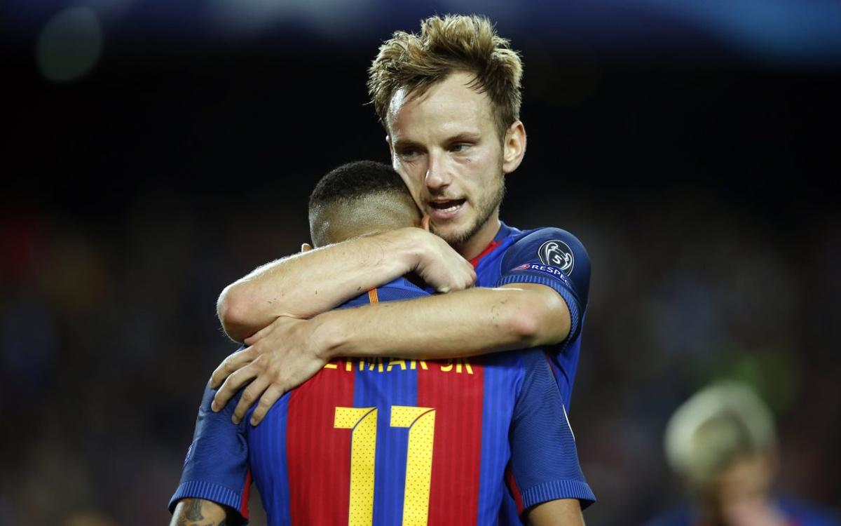 After FC Barcelona win 4-0, Rakitic is convinced that 'the best team won'
