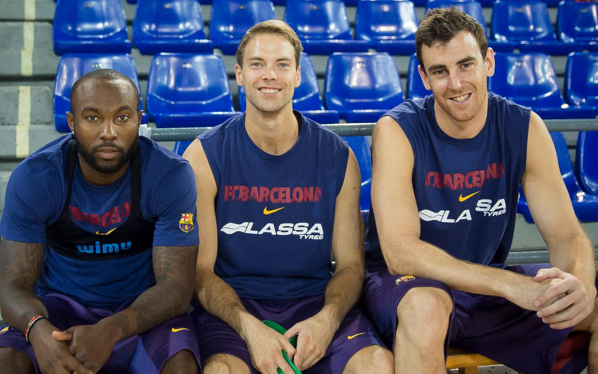 Rice, Koponen and Claver: a friendship forged in Moscow