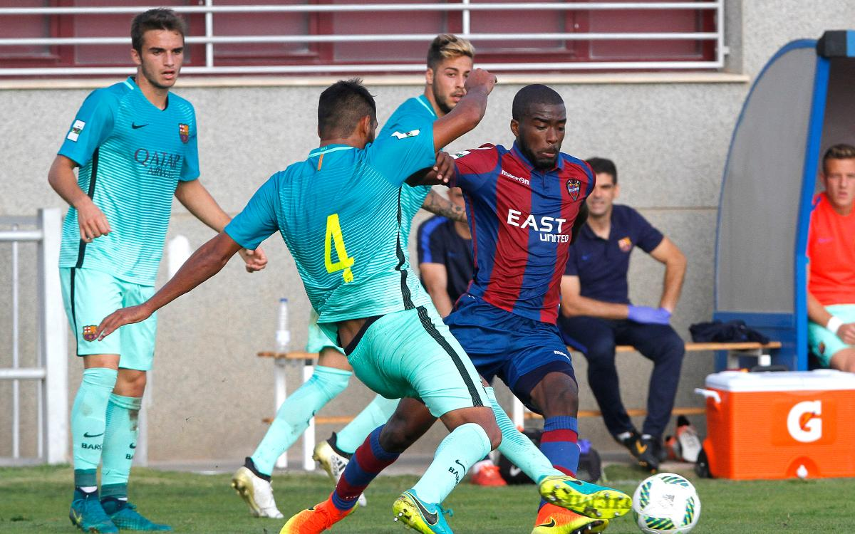 Atlético Levante v FC Barcelona B: All action, no reward (0-0)