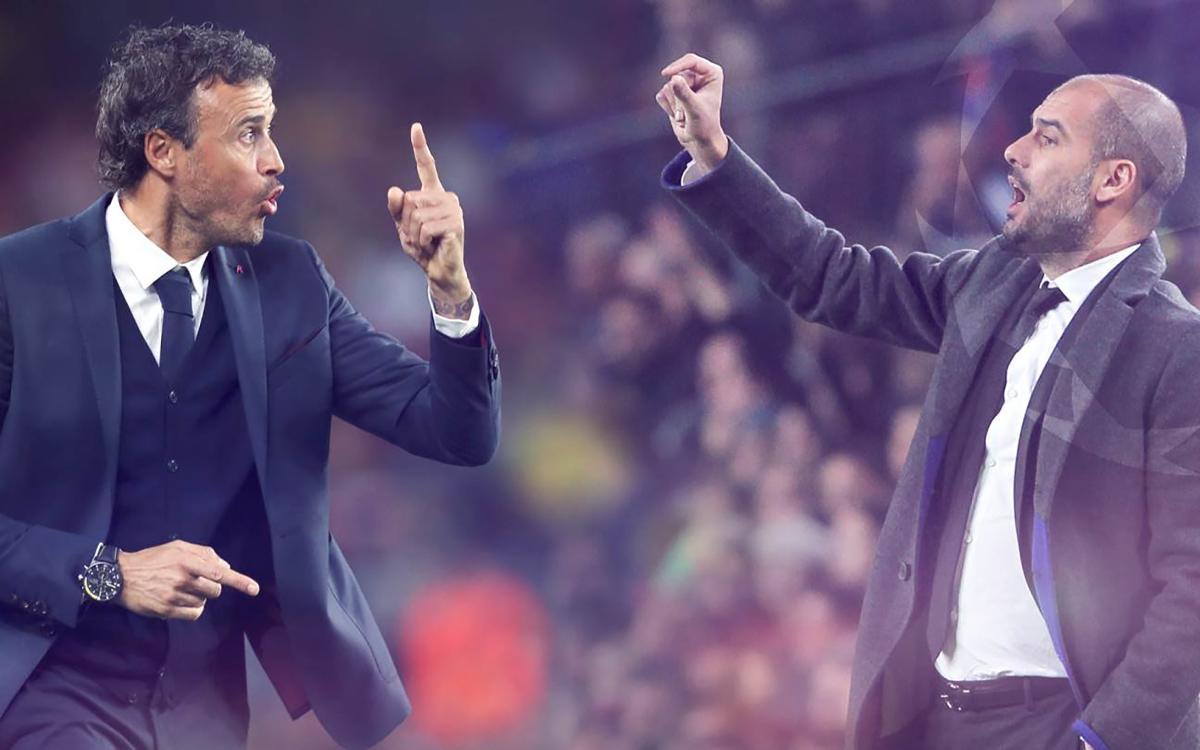 Guardiola y Luis Enrique: una amistad que viene de lejos