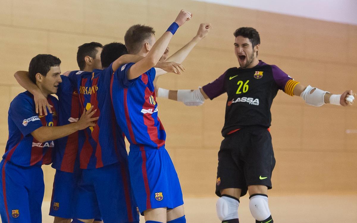 El Barça B debuta amb bon peu a la Lliga