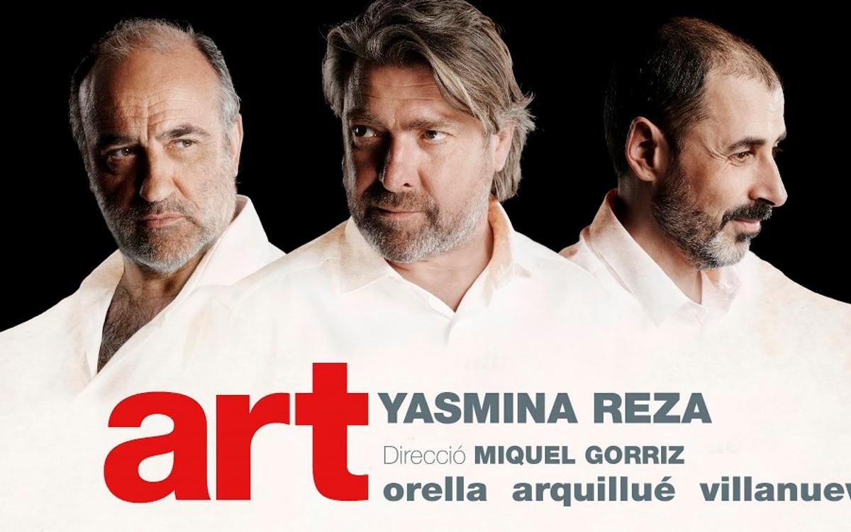 'Art' al Teatre Goya amb descompte per a socis del FCB