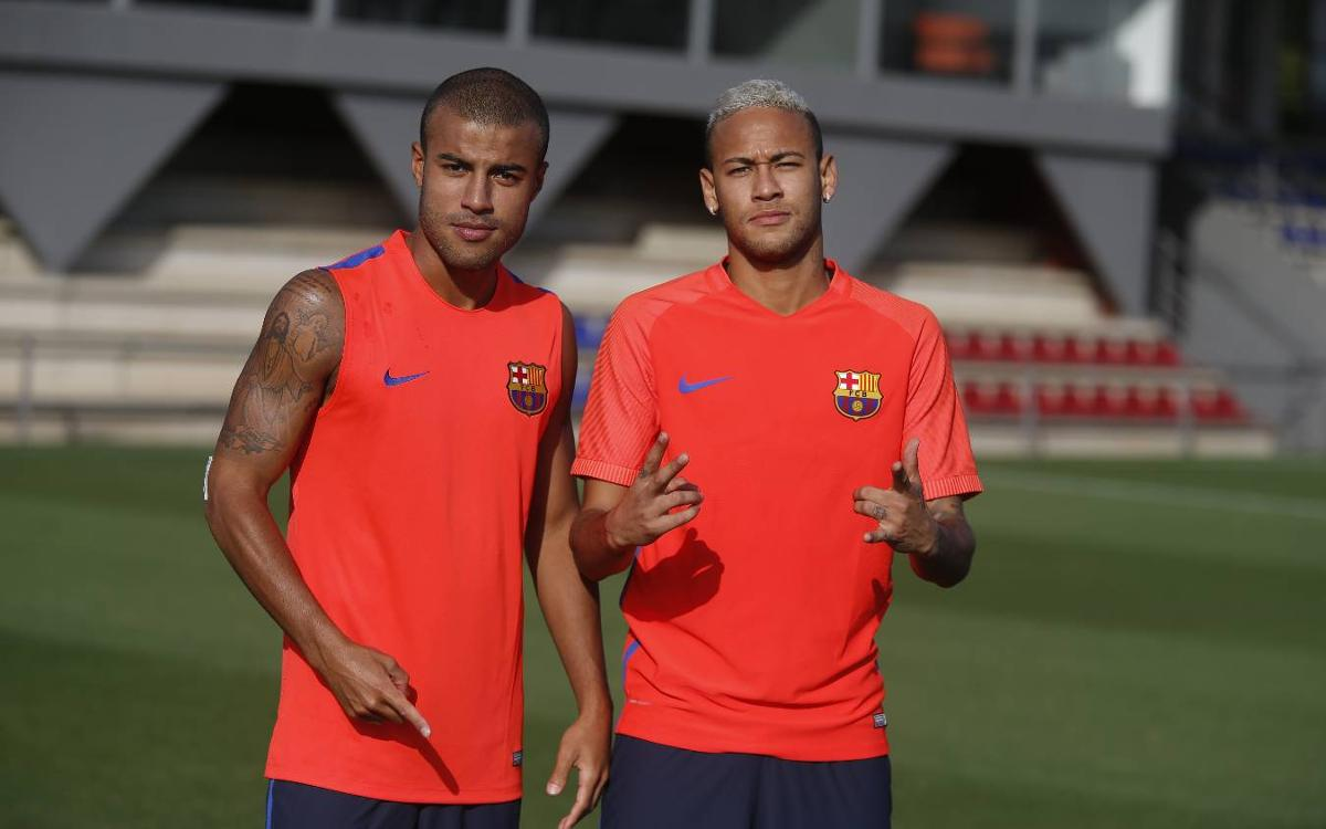Neymar Jr returns to training