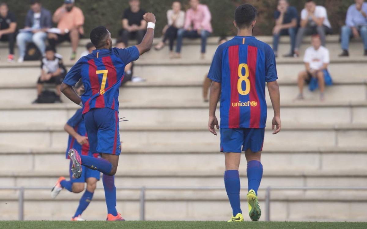 Juvenil A - San Francisco: El Barça reafirma su liderazgo (1-0)