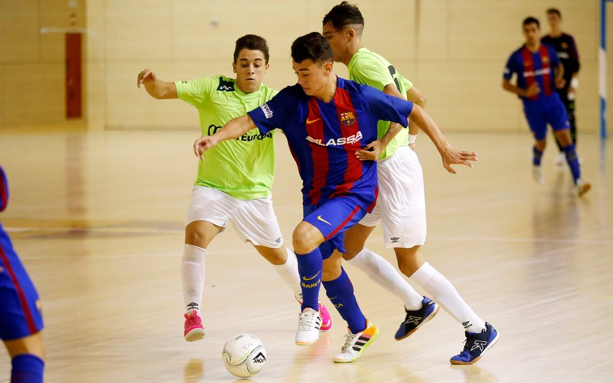 Victoria trabajada contra el Palma Futsal (6-1)