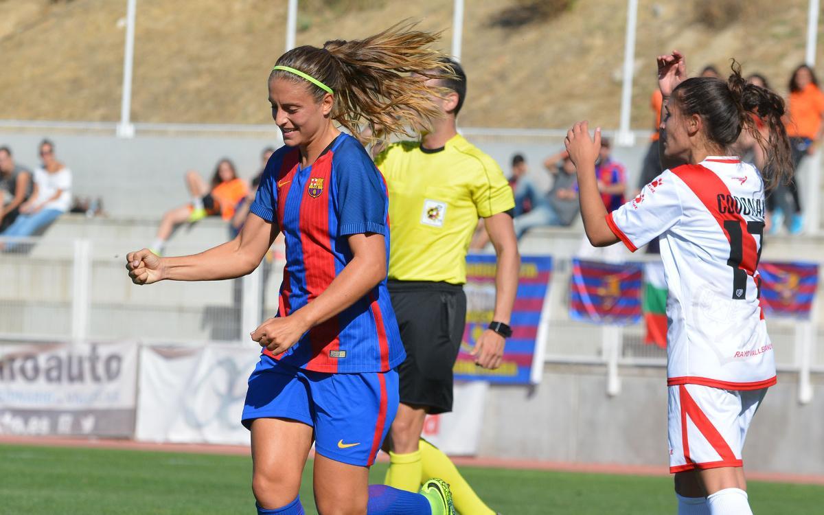 Rayo Vallecano v FC Barcelona Women: Four goals seal fourth win (0-4)