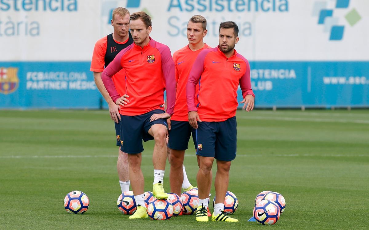FC Barcelona stars ready to relish Borussia-Park atmosphere