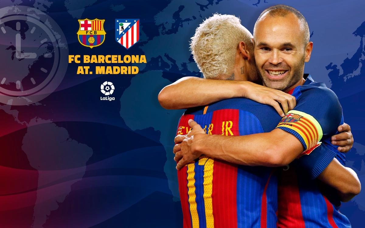When, where, and how to watch FC Barcelona v Atlético Madrid