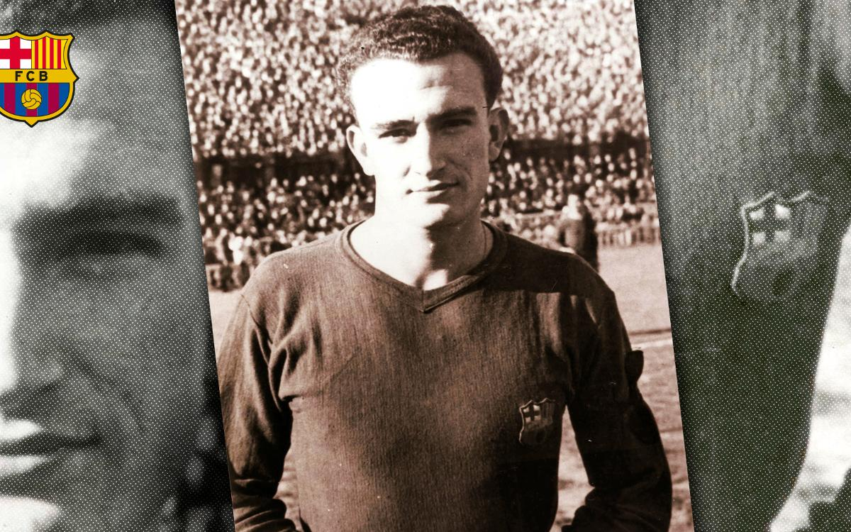 Former Barça player Joaquim Tejedor passes away