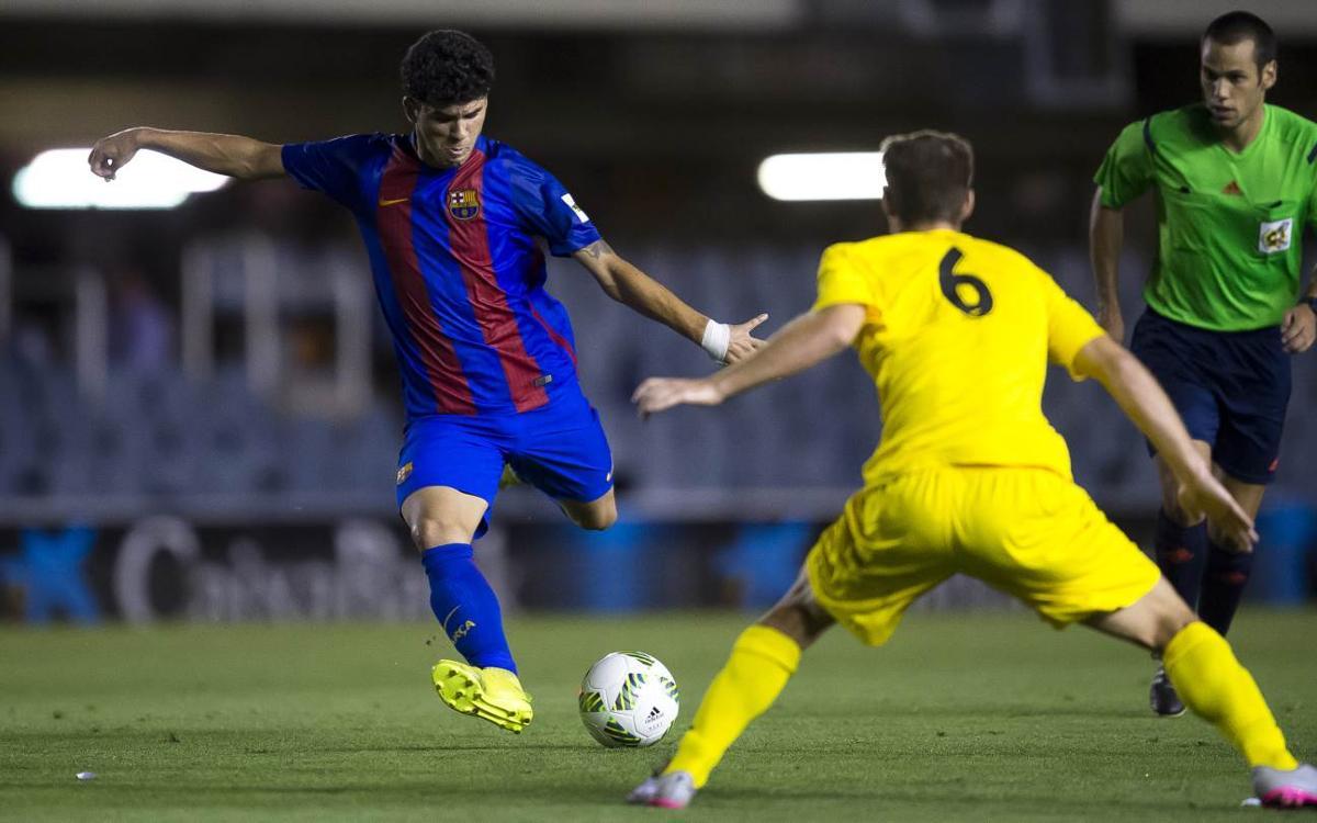 Barça B – Vila-real B: A la recerca de la tercera victòria consecutiva