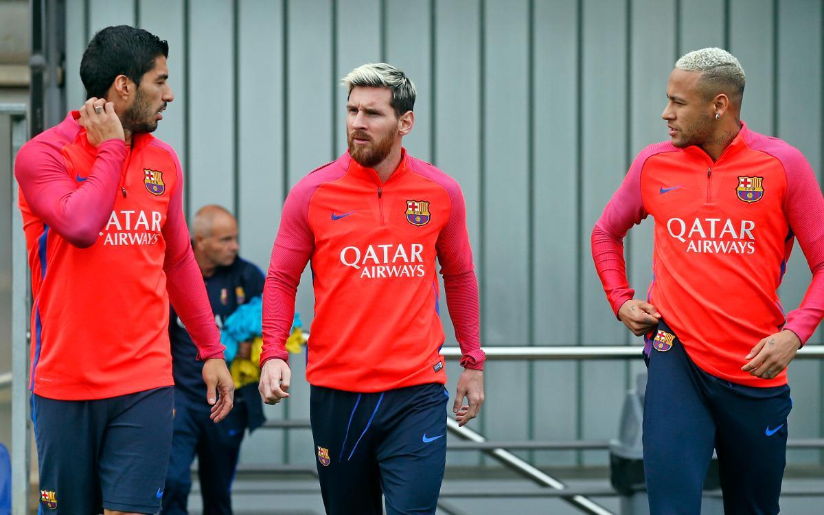 DIRECTO - Entrenamiento del FC Barcelona previo al FC Barcelona - Deportivo