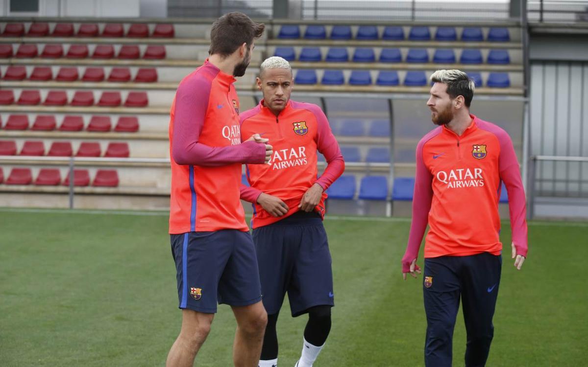 Messi, Umtiti y más internacionales se suman al grupo
