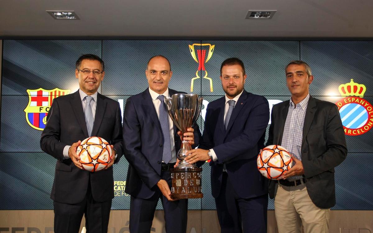 Compromiso total del Barça con la Supercopa de Catalunya