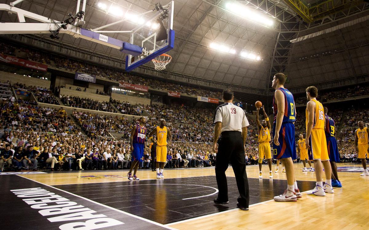 FC Barcelona Lassa - Oklahoma City Thunder: Quinto partido NBA en el Sant Jordi