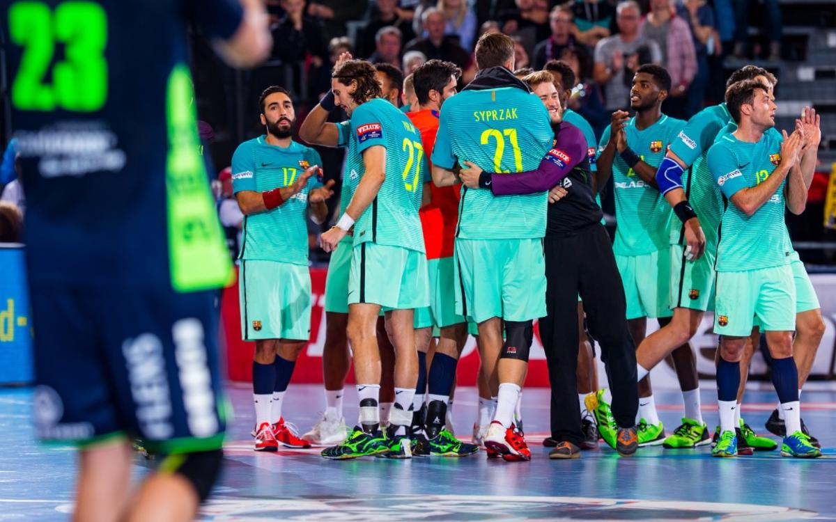 SG Flensburg-Handewitt – FC Barcelona Lassa: Consolidan el liderato (27-28)