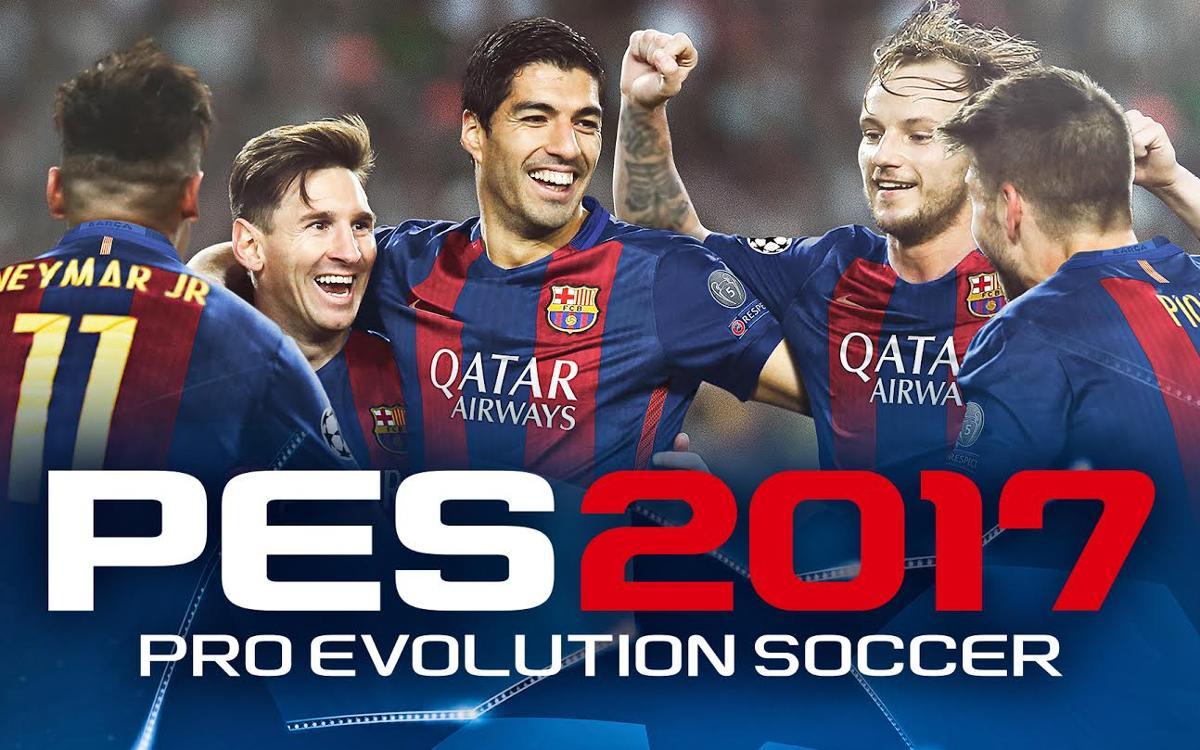 Konami, Premium Partner du FC Barcelone, lance PES 2017