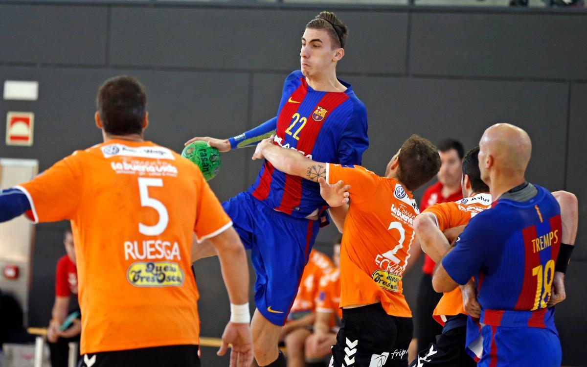 El reto de la Copa para el Barça Lassa B