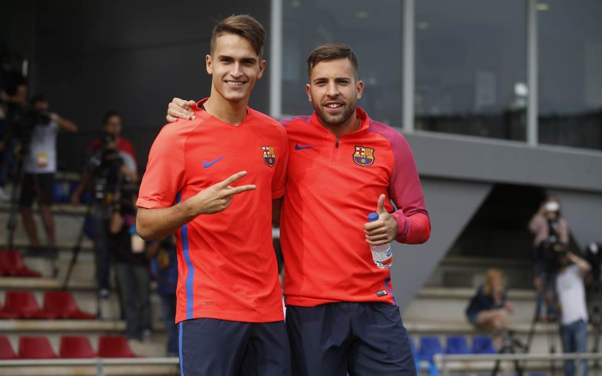 Final training session before the visit to Balaídos