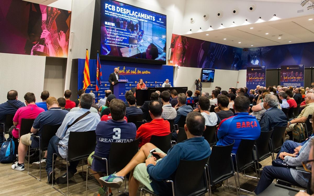 FCBDesplaçaments presenta a los socios una atractiva propuesta de viajes