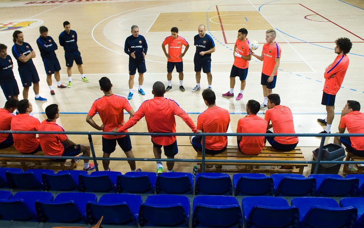 """Andreu Plaza: """"Ja tenim ganes de començar a competir"""""""