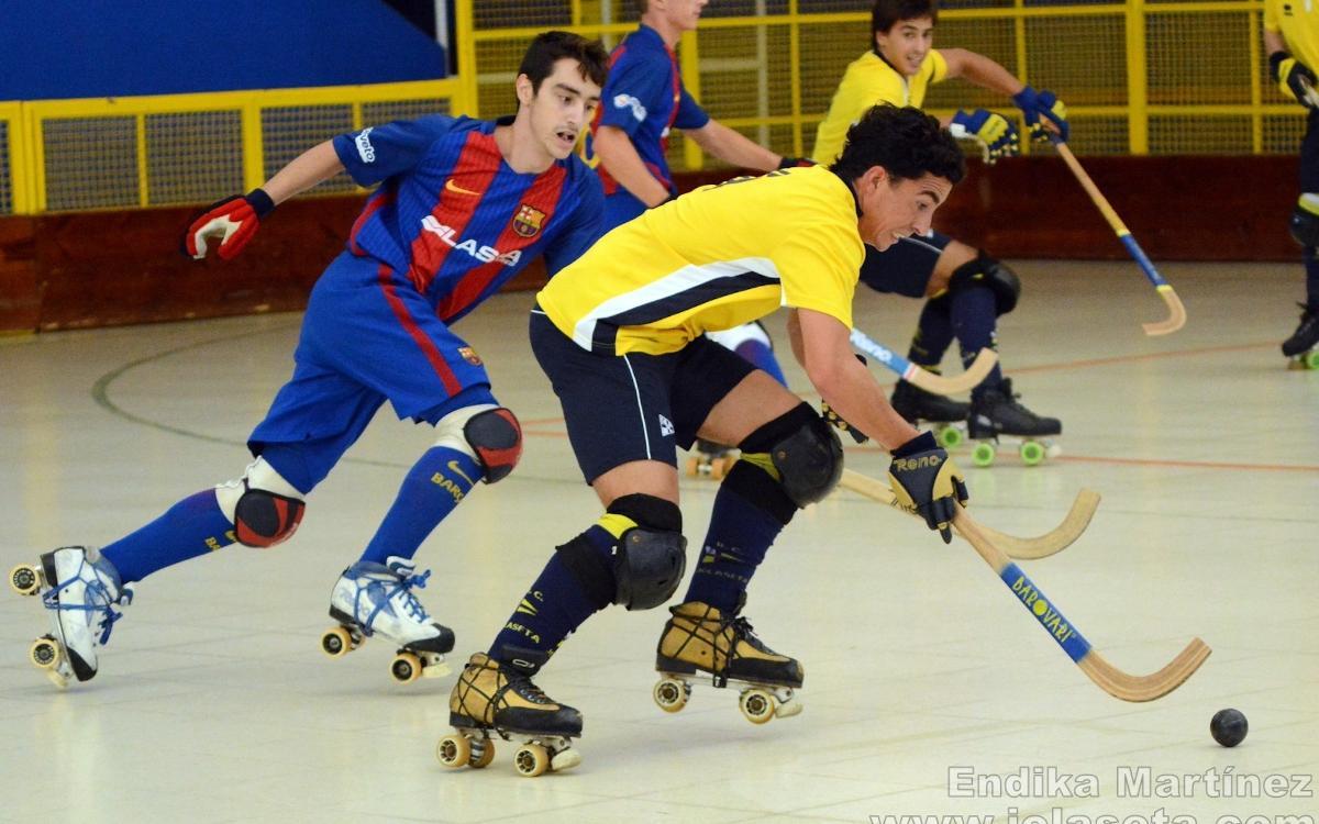 El Barça Lassa B, tercer classificat al torneig del Jolaseta