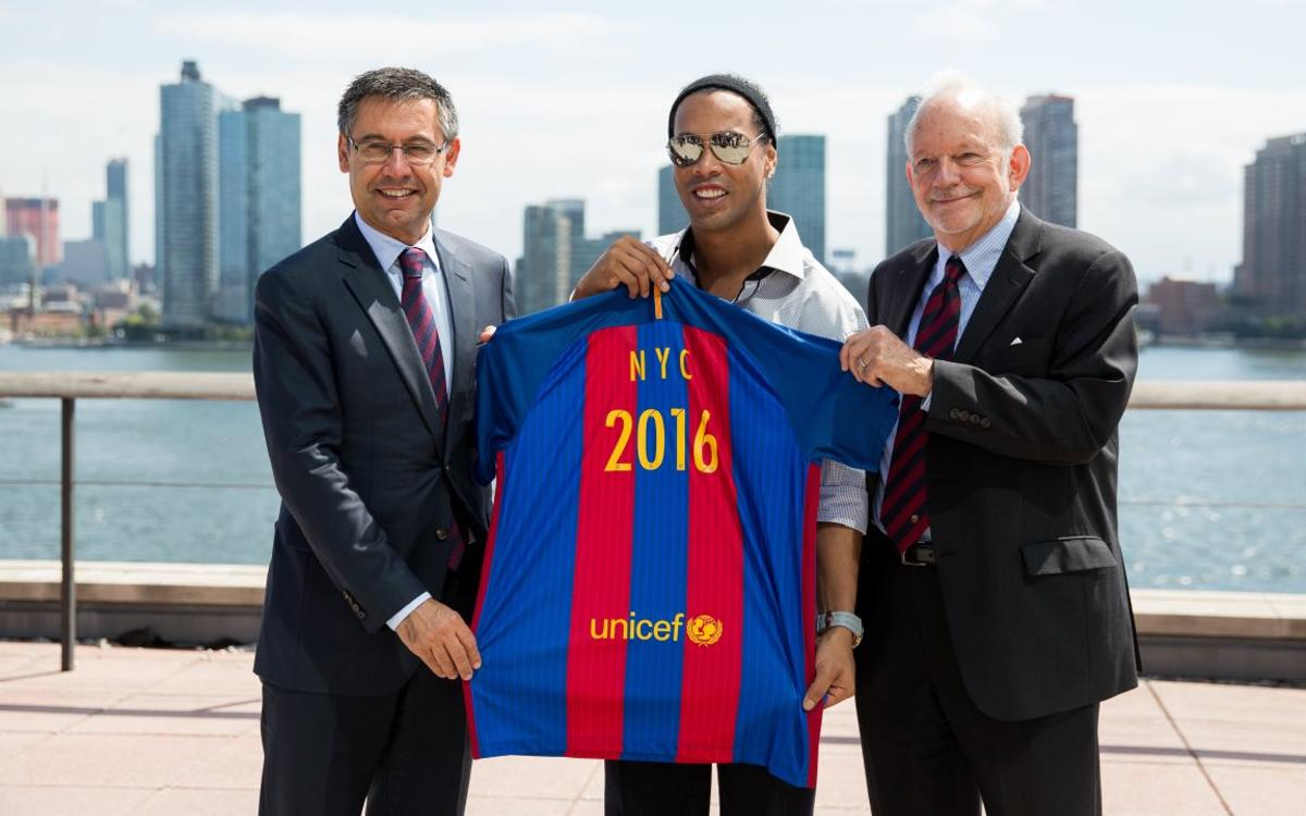 FC Barcelona Foundation and UNICEF join forces in support of children with disabilities