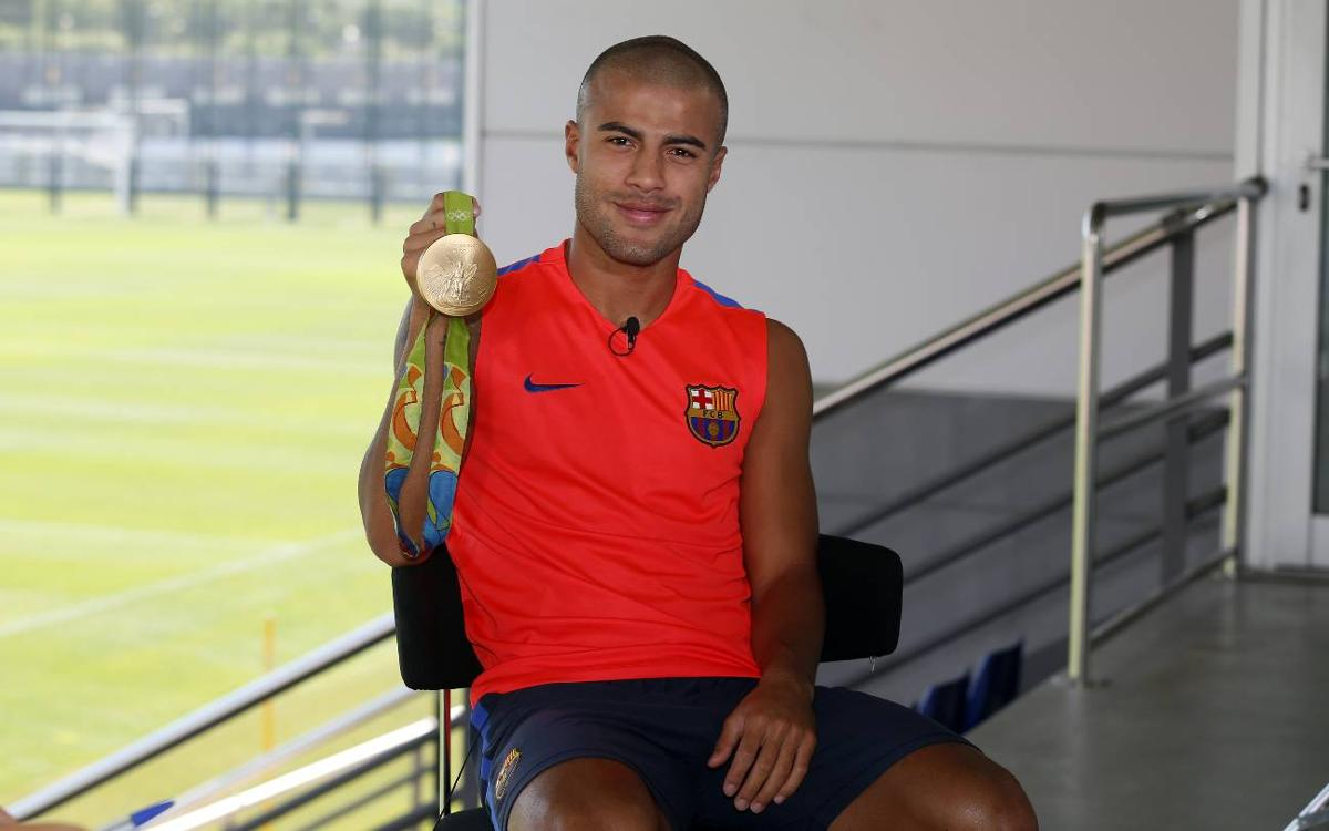 Rafinha: The expectation at FC Barcelona is to win everything