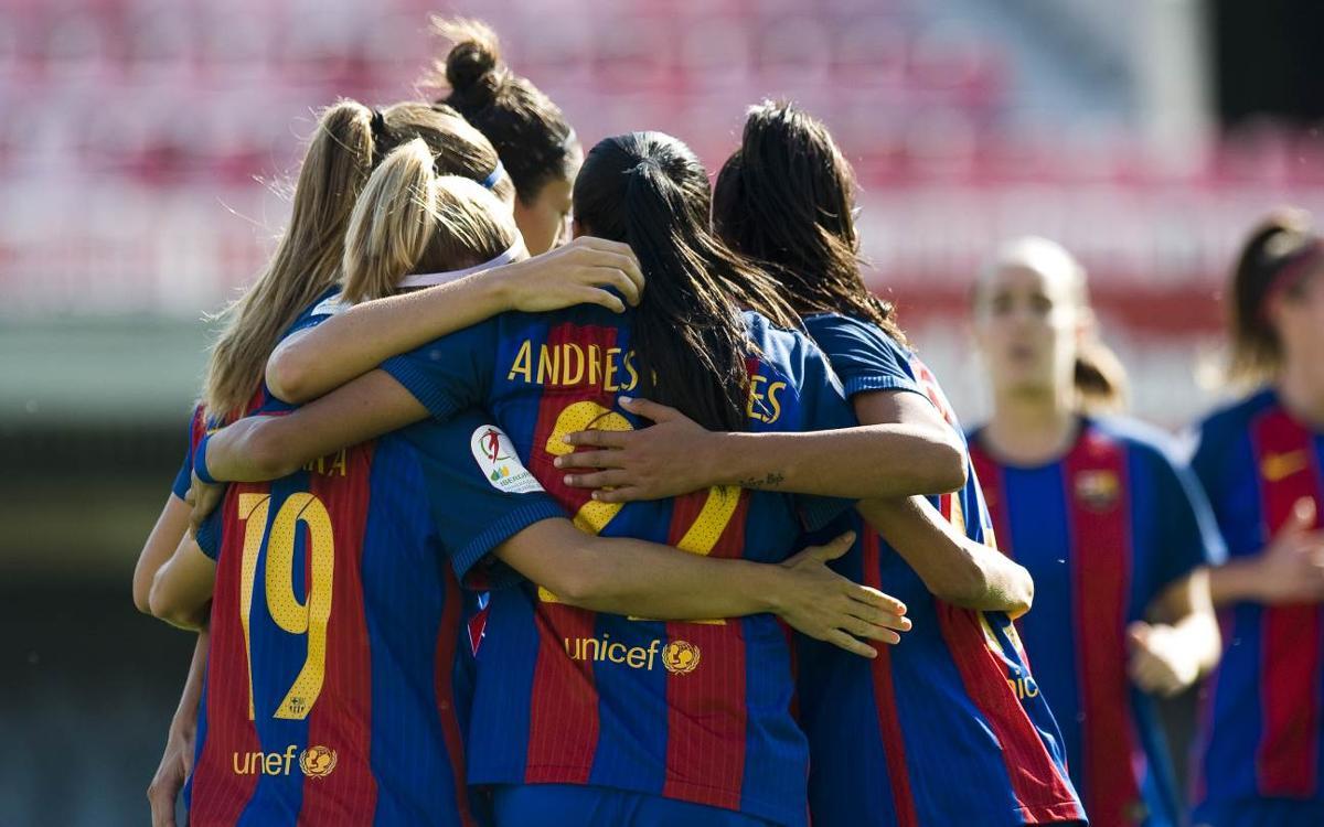 FC Barcelona 7-0 Fundación Albacete: Comfortable win in the Miniestadi