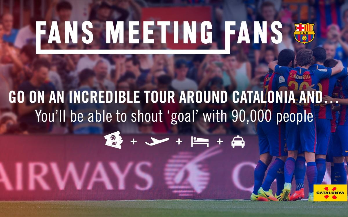 Fans Meeting Fans, a tour of Catalonia for FC Barcelona lovers