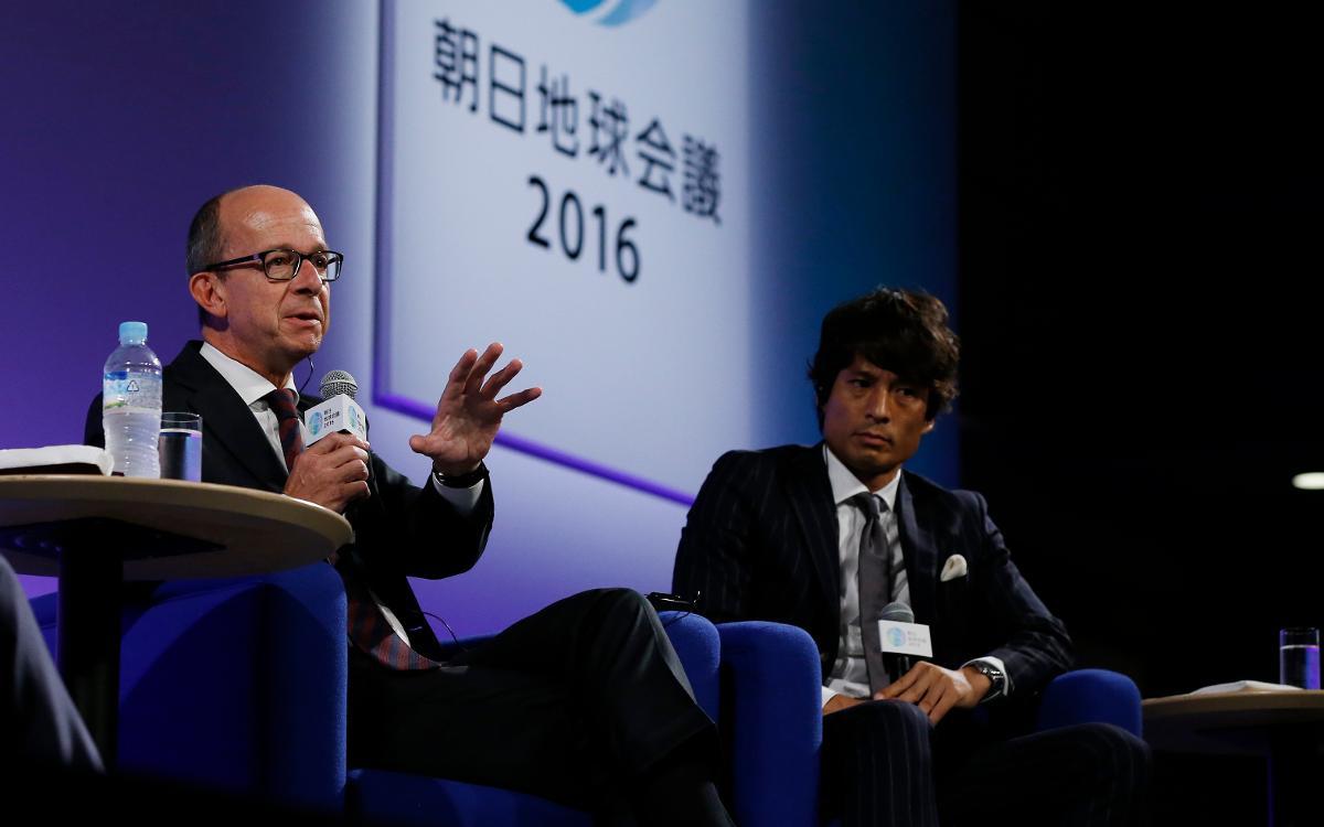 カルドネル副会長、宮本恒靖氏と東京でスペシャルトーク