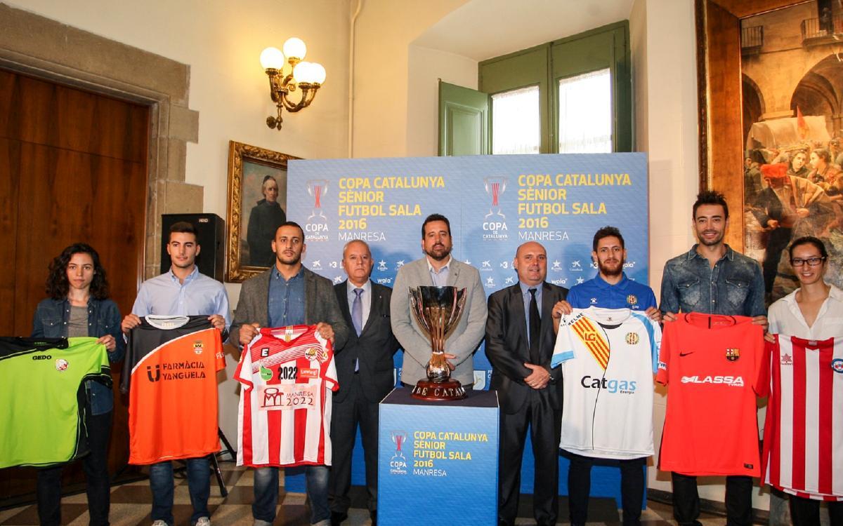 Paco Sedano, a la presentació de la Copa Catalunya