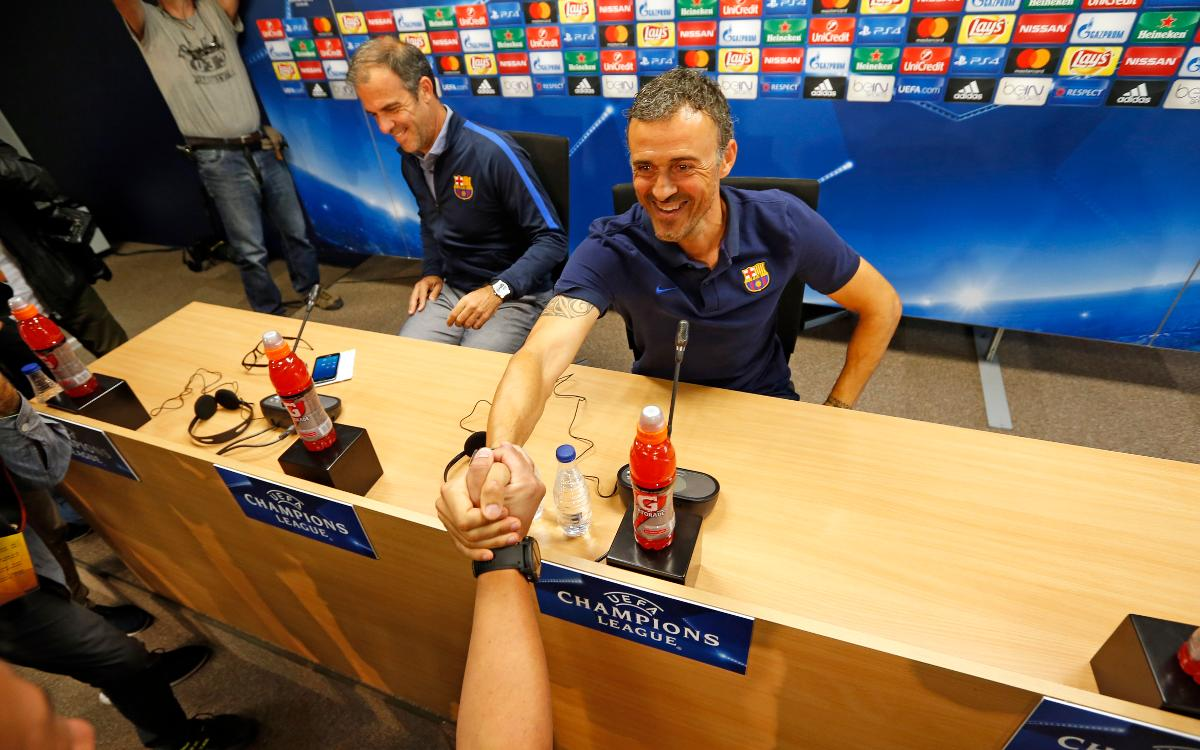 Luis Enrique: It's a great incentive playing against Pep's Man City