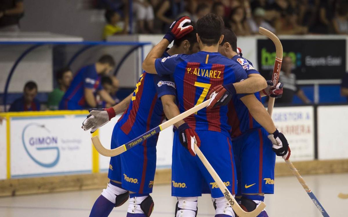 CP Voltregà - FC Barcelona Lassa: Triunfo contundente en una pista difícil (2-5)