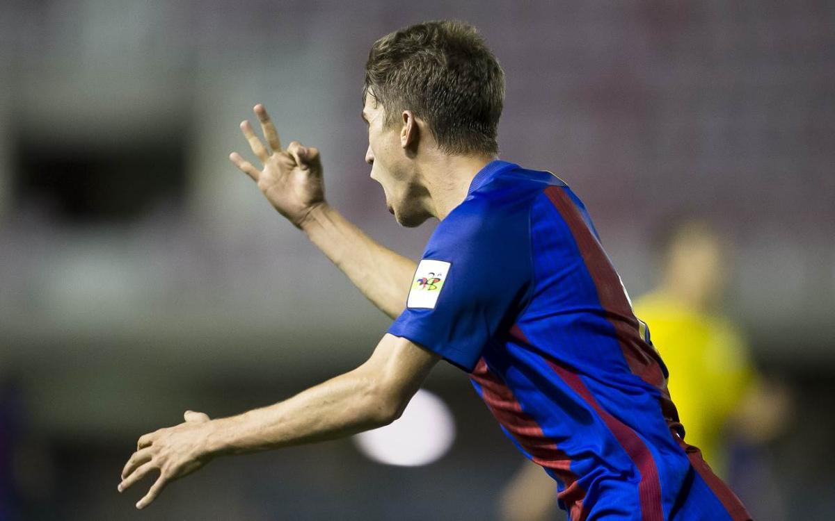Recordes els últims hat-tricks del Barça B?