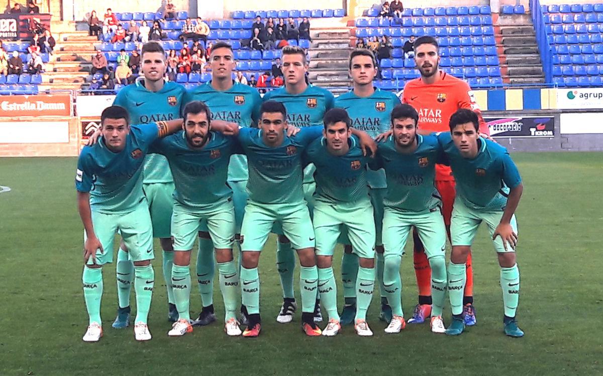 UE Llagostera – Barça B: Impressive away win (0-2)