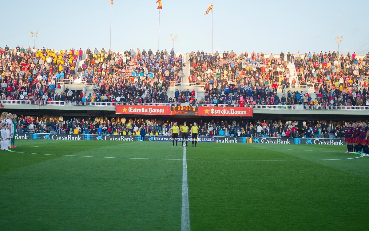 Contra el Zaragoza CFF, en el Mini, el día 9