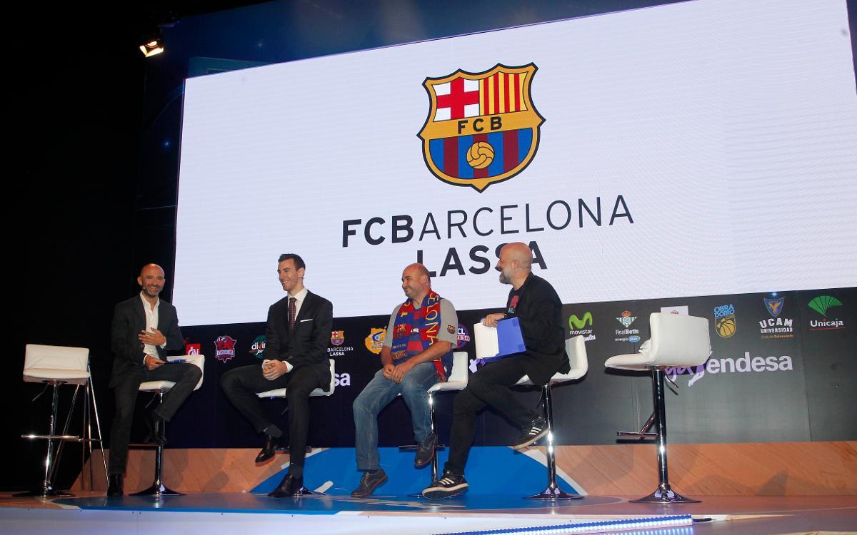 Víctor Claver, en la presentación de la Liga Endesa 2016/17