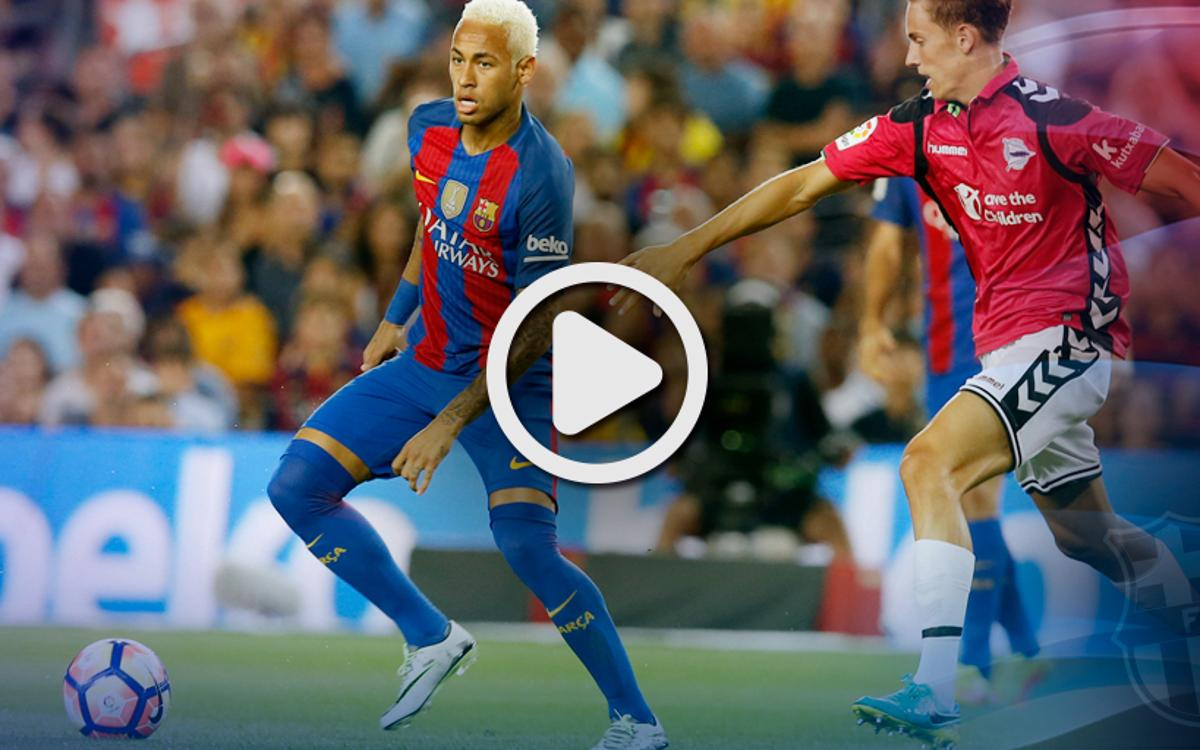 [LIGA] El resumen del FC Barcelona - Alavés