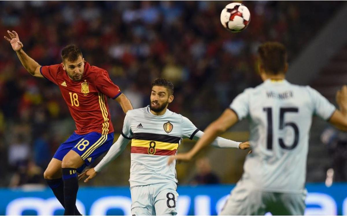 Barça players aid wins by Spain, Portugal and France