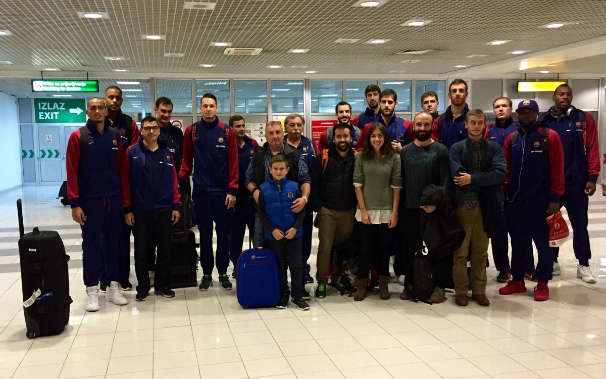 Belgrad, el primer desplaçament del curs per als aficionats blaugranes
