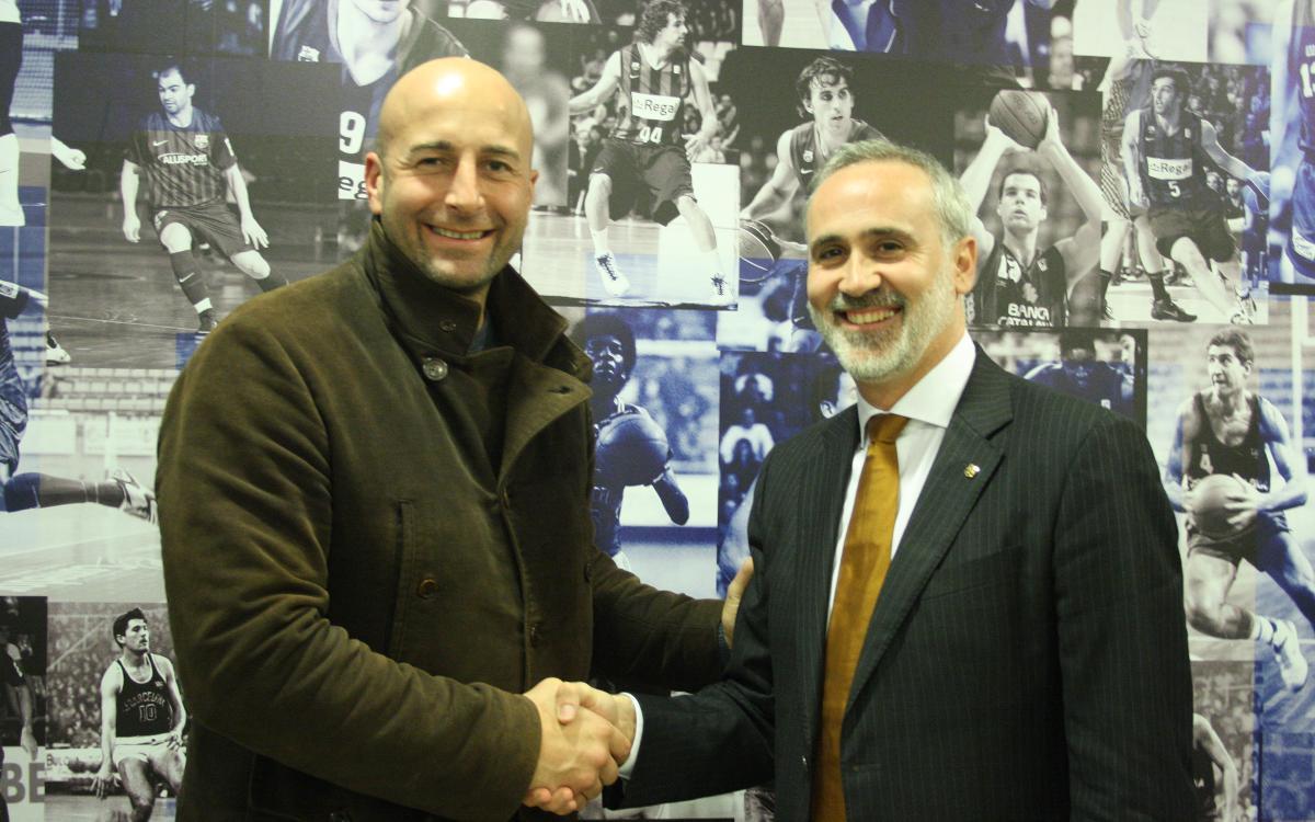 Galilea, nuevo presidente de la Asociación de Antiguos Jugadores de Baloncesto del Barça