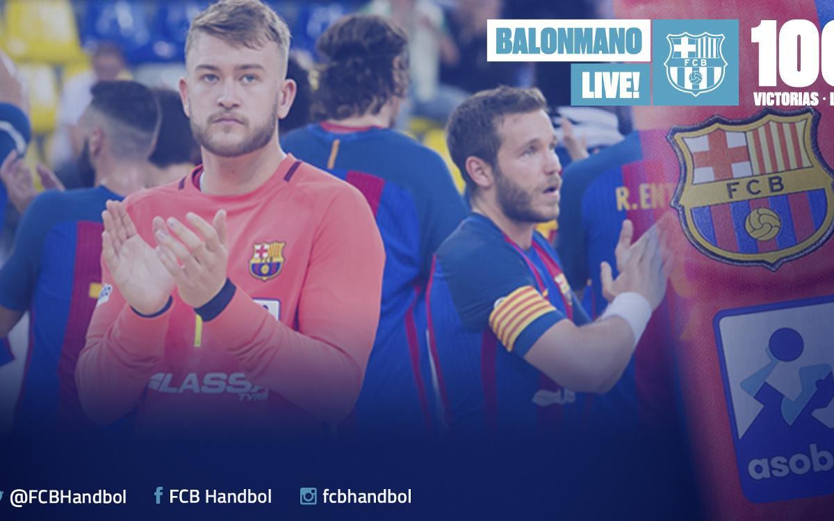 Un largo camino hacia el triunfo 100 del Barça Lassa