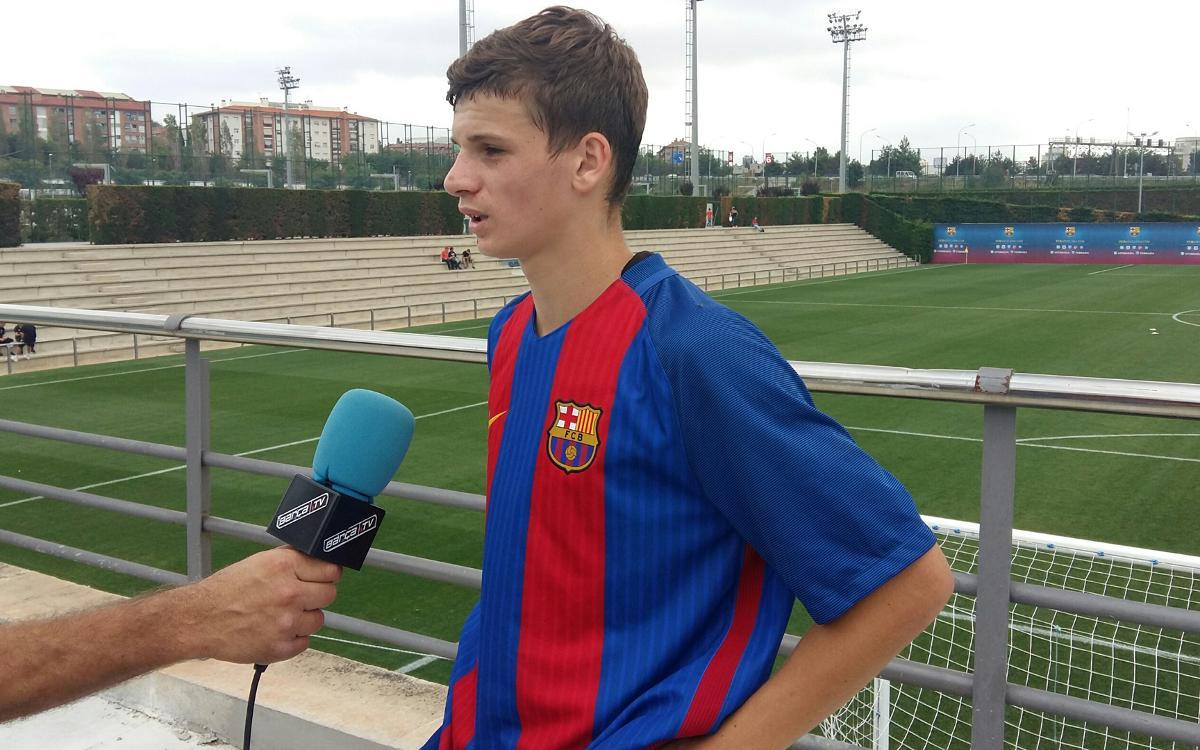 """Labinot Kabashi, del Juvenil B, convocat amb Kosovo: """"És un orgull"""""""