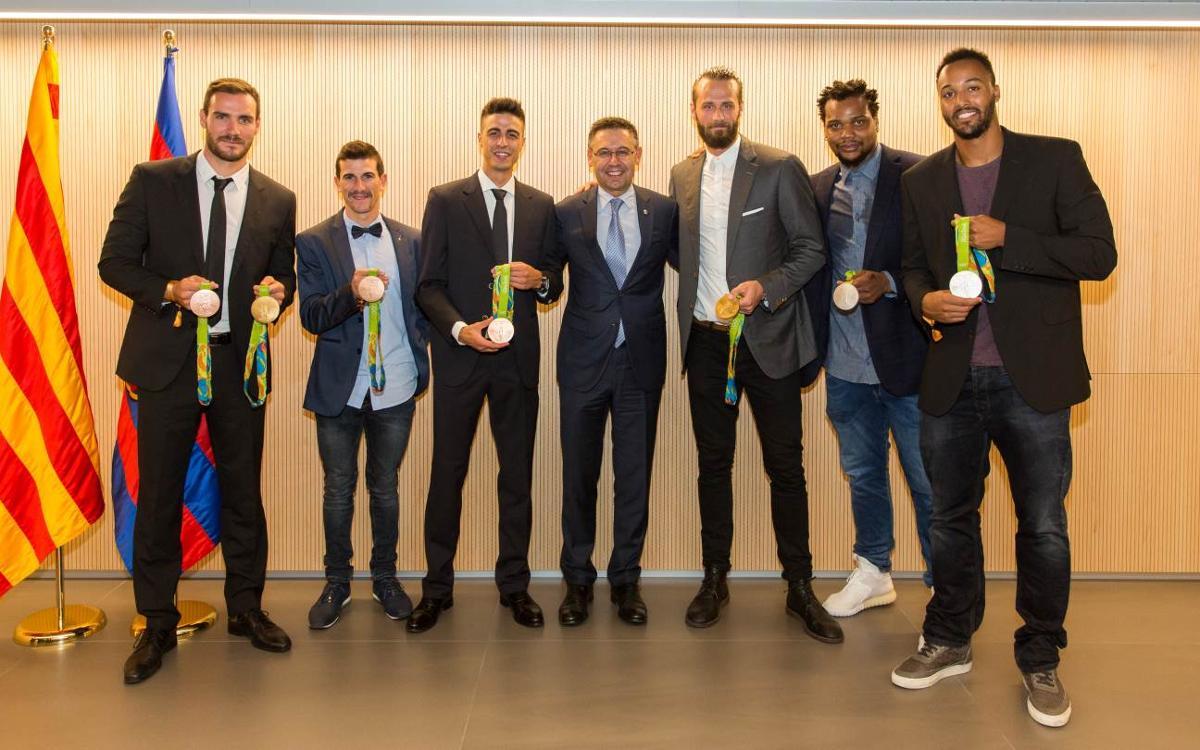 Recepción a los medallistas olímpicos de Río 2016