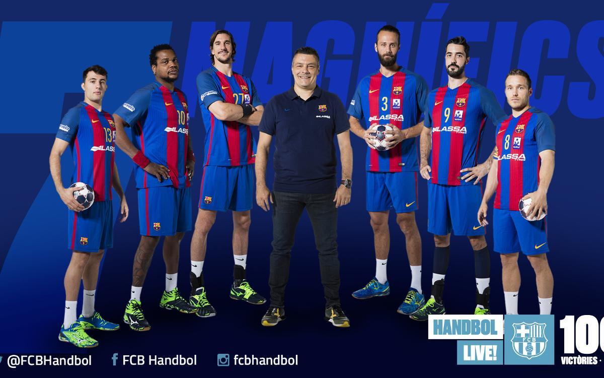 Els set magnífics del Barça d'handbol