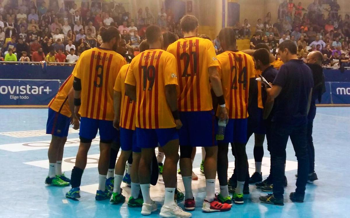 BM Guadalajara – FC Barcelona Lassa: Ningú va dir que seria fàcil (25-34)