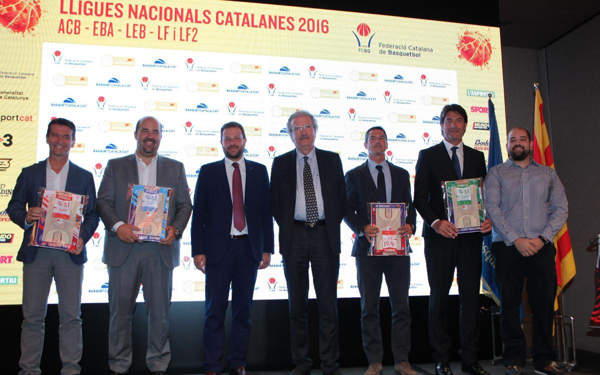 El FC Barcelona, present a la Lliga Catalana