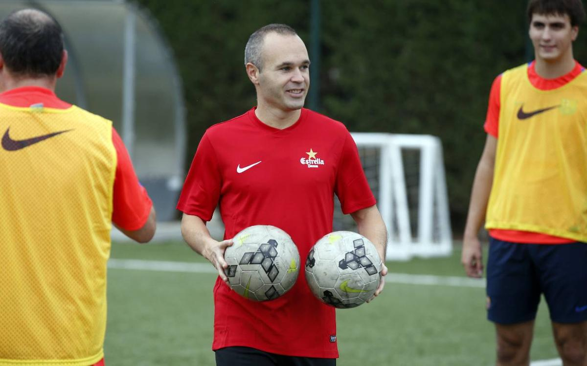 Iniesta: Guardiola moulding Manchester City's playing style