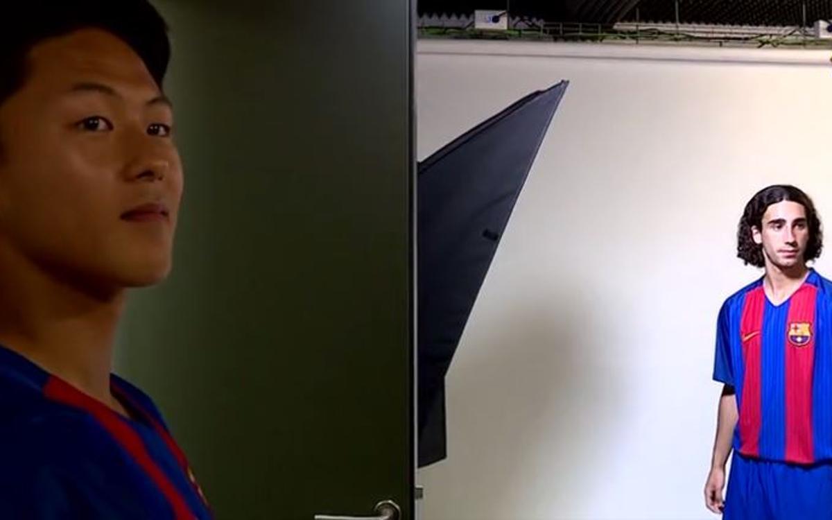Així es van fer les fotos oficials del Juvenil A
